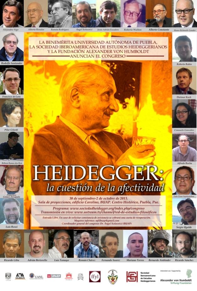 """II CONGRESO INTERNACIONAL DE LA SIEH """"HEIDEGGER: LA CUESTIÓN DE LA AFECTIVIDAD"""""""